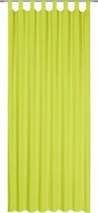 ZAVJESA S OMČAMA - limeta, Basics, tekstil (135/245cm) - Boxxx