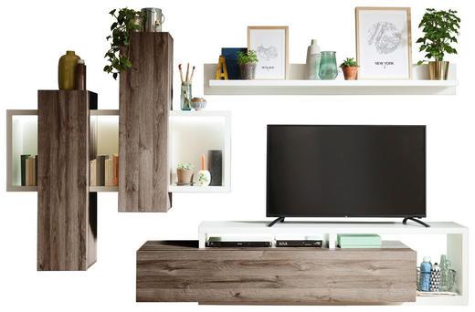 Wohnwand braun weiß online kaufen ➤ xxxlutz