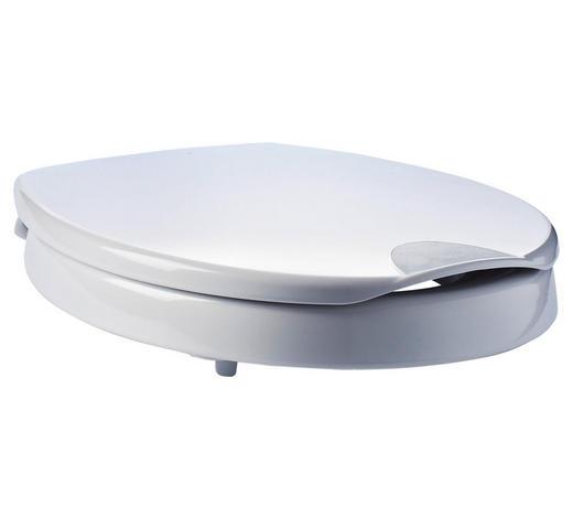 WC-SITZERHÖHUNG - Weiß, Basics, Kunststoff
