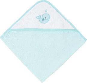 BADLAKAN MED HUVA - turkos/blå, Basics, textil (80/80cm) - My Baby Lou