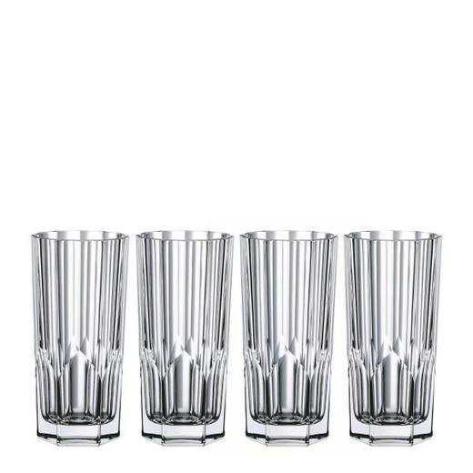 LONGDRINKGLAS 4-teilig - Klar, Basics, Glas (15,3cm) - Nachtmann
