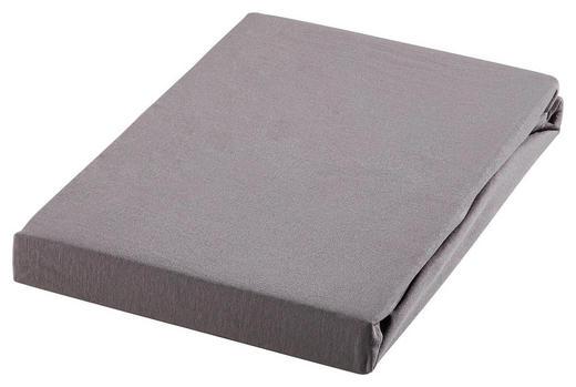 TOPPER-SPANNBETTTUCH Jersey Grau für Topper geeignet - Grau, KONVENTIONELL, Textil (140/200cm) - Esposa