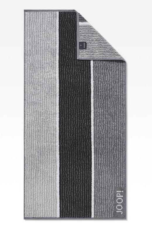 HANDTUCH 50/100 cm - Schwarz/Grau, Basics, Textil (50/100cm) - Joop!