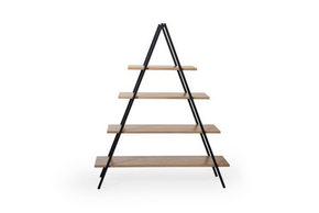 RUMSAVDELARE - grå/svart, Modern, metall/trä (120/145/42cm) - Hom`in
