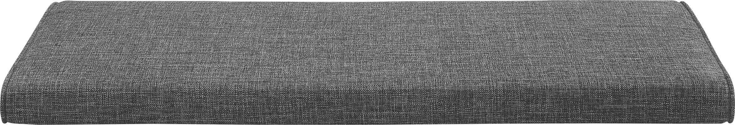 SITZKISSEN Anthrazit - Anthrazit, Design, Textil (80/4/38cm)