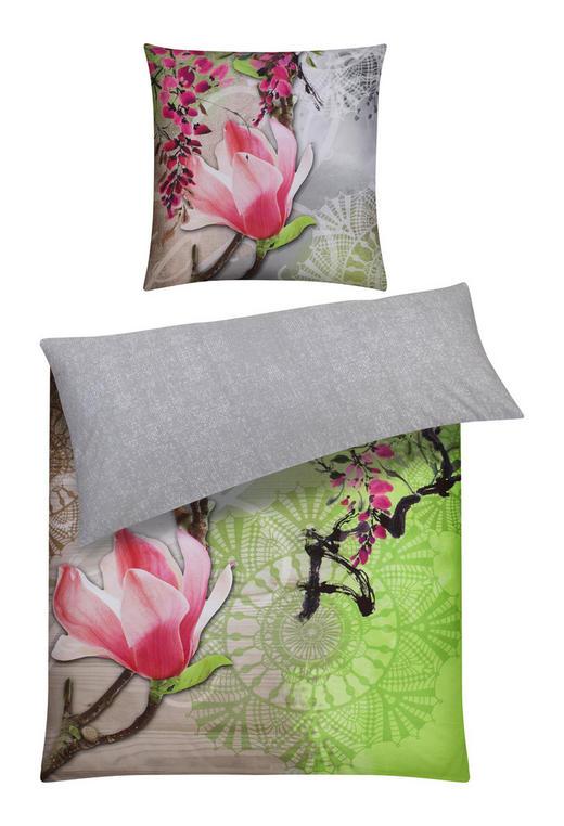 BETTWÄSCHE Satin Hellgrün 135/200 cm - Hellgrün, Design, Textil (135/200cm) - Ambiente