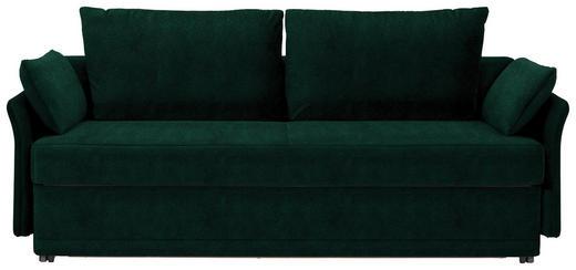 SCHLAFSOFA in Textil Dunkelgrün - Dunkelgrün, MODERN, Textil (220/98/96cm) - Joka