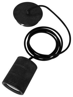 LAMPUPPHÄNG - svart, Basics, metall (7,5/200cm) - Calex