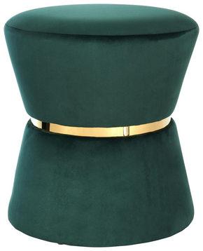 PALL - mörkgrön/guldfärgad, Trend, metall/trä (37/40cm) - Ambia Home