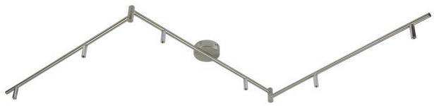 LED-STRAHLER - Chromfarben, Design, Metall (180cm) - BOXXX