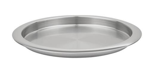 SERVERINGSBRICKA - rostfritt stål-färgad, Basics, metall (36cm) - HOMEWARE