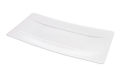 SERVIERPLATTE - Weiß, Basics, Keramik (18/35cm) - Villeroy & Boch