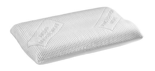 NACKENSTÜTZKISSEN  65/40 cm - Weiß, Basics, Textil (65/40cm)