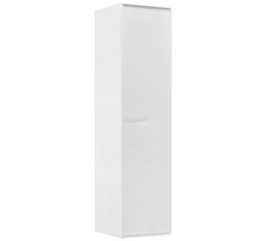 BOČNÍ SKŘÍŇ, bílá,  - bílá, Design, kompozitní dřevo (40/159,7/40cm) - Novel