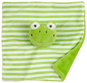SNUTTEFILT - grön, Basics, textil (20/20cm) - My Baby Lou
