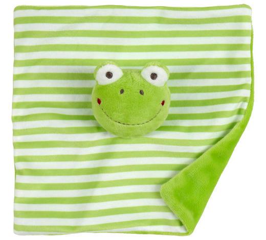 MEHKA KRPICA STRIPES - zelena, Basics, tekstil (20/20cm) - My Baby Lou