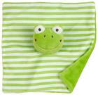 ŠÁTEK MAZLÍCÍ - zelená, Basics, textil (20/20cm) - My Baby Lou