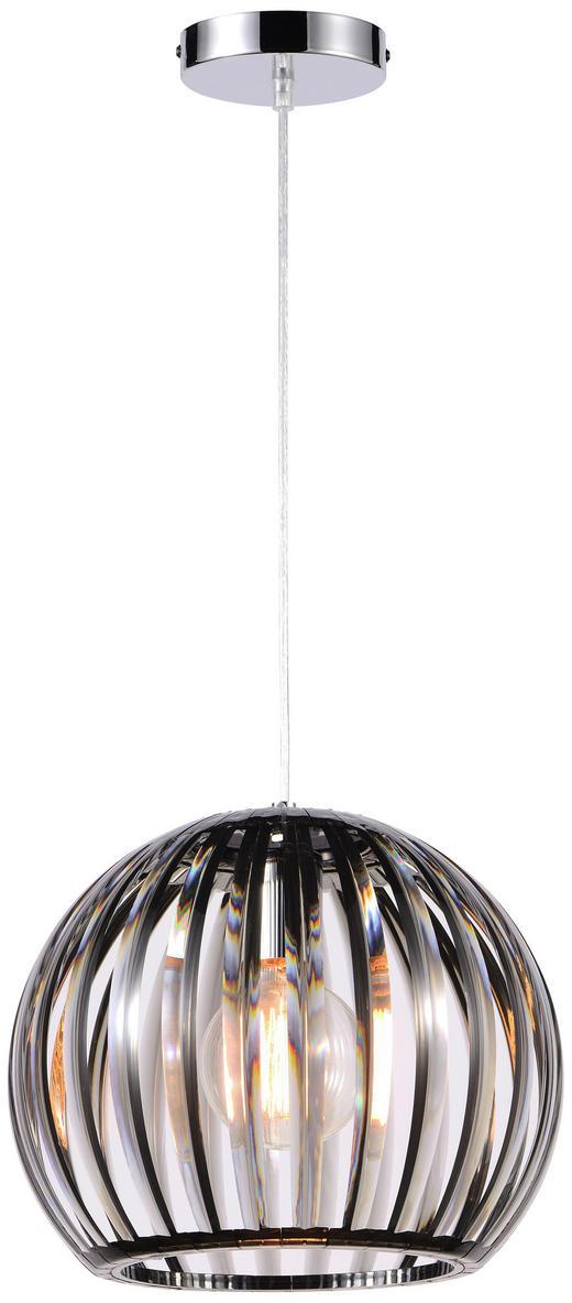 Hängeleuchte - Schwarz, Trend, Kunststoff (30,5 150 cm) - Boxxx