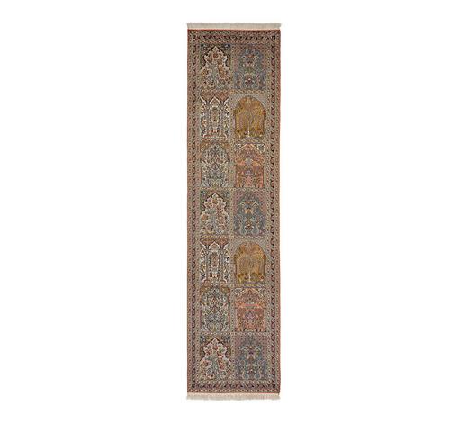 KOBEREC ORIENTÁLNÍ, 80/200 cm, vícebarevná - vícebarevná, Lifestyle, přírodní materiály (80/200cm) - Esposa