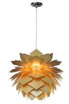 Hängeleuchte - Naturfarben, Lifestyle, Holz (55/44cm) - Marama