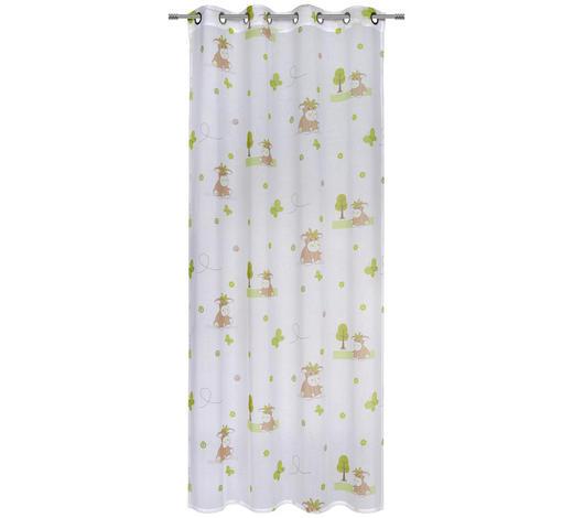 DĚTSKÝ ZÁVĚS, poloprůhledné, 135/245 cm - vícebarevná, Konvenční, textil (135/245cm) - Ben'n'jen