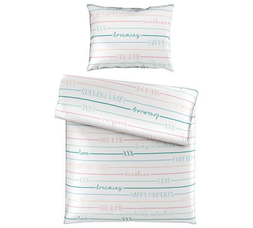 BETTWÄSCHE 140/200 cm - Blau/Weiß, Trend, Textil (140/200cm) - Esposa