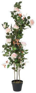 CVIJEĆE UMJETNO - svijetlo ružičasta/bijela, Lifestyle, plastika (55/130cm)