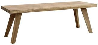 SITZBANK Akazie massiv  - Natur, Holz (140/45/40cm) - Carryhome