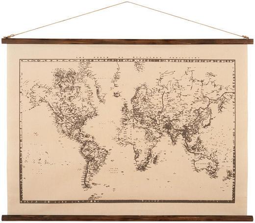 Bild - Schwarz/Weiß, LIFESTYLE, Holz/Textil (120/89cm) - Ambia Home