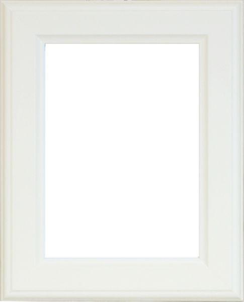 RÁM NA OBRAZY - bílá, Basics, dřevo (56/76/2cm)