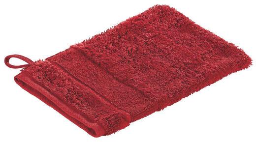 WASCHHANDSCHUH - Rot, Textil (16/22cm) - CAWOE