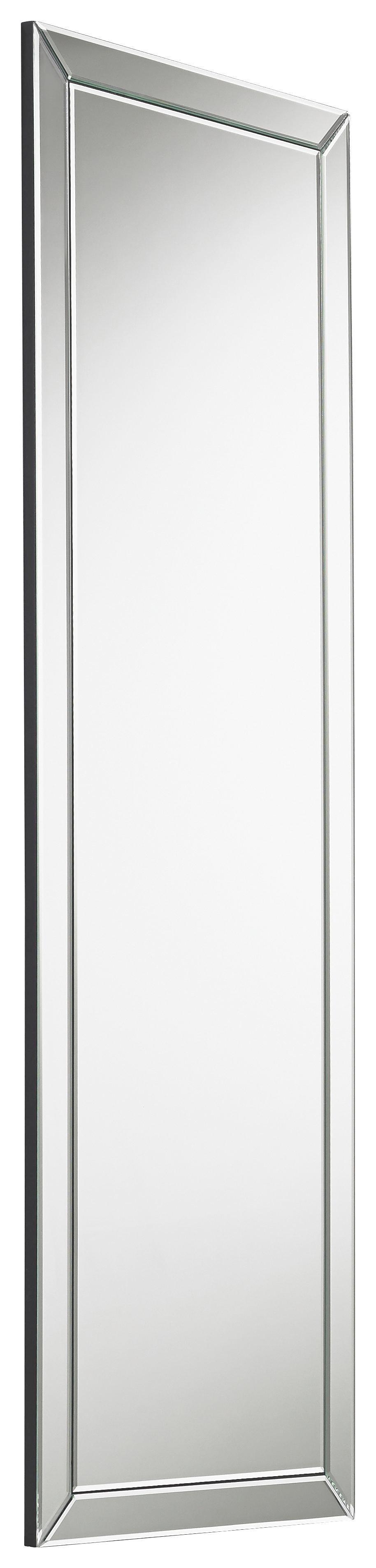 SPIEGEL - Silberfarben, Design (150/50/1,9cm) - XORA