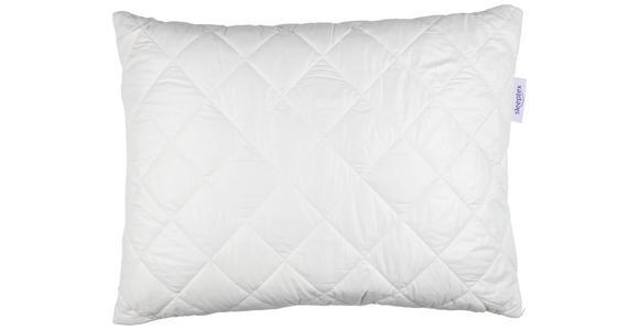 KOPFPOLSTER 40/80 cm   - Weiß, Basics, Naturmaterialien/Textil (40/80cm) - Sleeptex