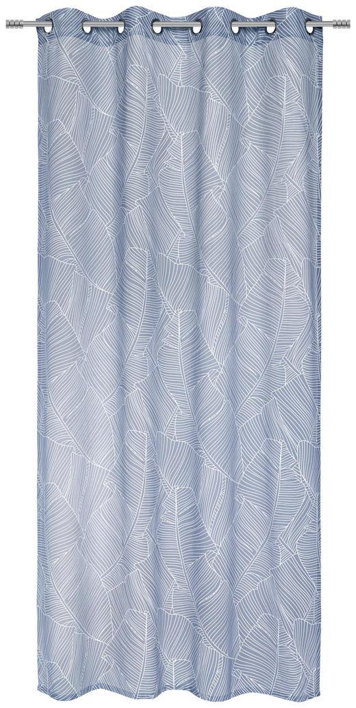 ÖSENSCHAL  halbtransparent - Blau, Design, Textil (135/245cm) - Esposa