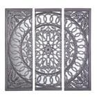 DEKOSPIEGEL Grau - Grau, Trend, Glas/Holzwerkstoff (120/120/2,5cm) - AMBIA HOME