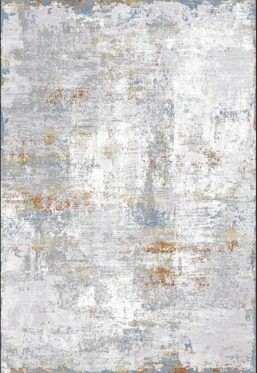 WEBTEPPICH  080/150 cm  Blau, Gelb, Orange, Weiß - Blau/Gelb, Design, Textil (080/150cm) - Novel