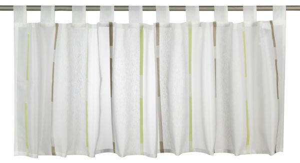 KURZGARDINE   140/48 cm - Grün, Basics, Textil (140/48cm) - ESPOSA