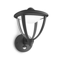 MYGARDEN LED-AUßENWANDLEUCHTE Schwarz  - Schwarz, KONVENTIONELL, Kunststoff/Metall (26/17,4/22,8cm) - Philips