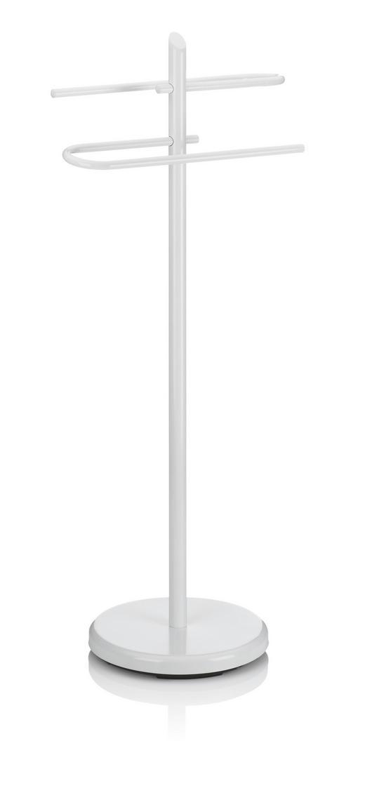 HANDTUCHHALTER Weiß - Weiß, Basics, Metall (25,5/88cm) - Kela