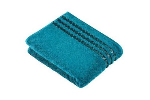 DUSCHTUCH 67/140 cm - Petrol, Basics, Textil (67/140cm) - VOSSEN