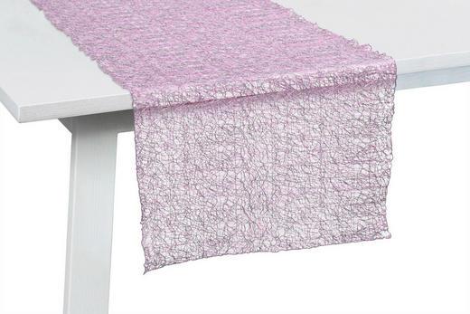 TISCHLÄUFER Textil Hellrosa 045/140 cm - Hellrosa, Design, Textil (045/140cm)