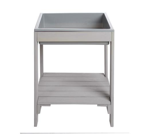 OUTDOOR SPIELTISCH - Grau, Basics, Holzwerkstoff (38,5/50/32cm) - Roba