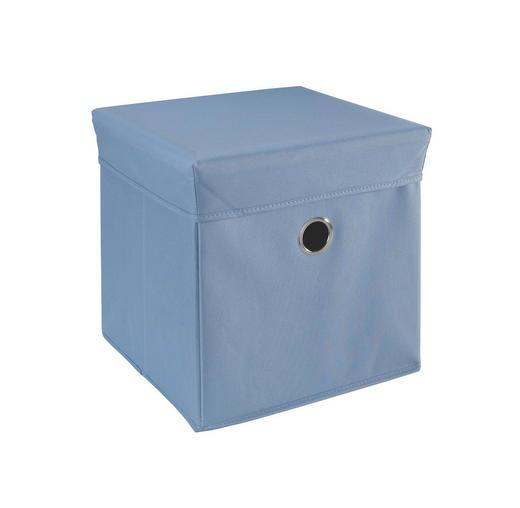 SPIELZEUGBOX - Blau, Basics, Holz/Kunststoff (32/32/32cm) - My Baby Lou