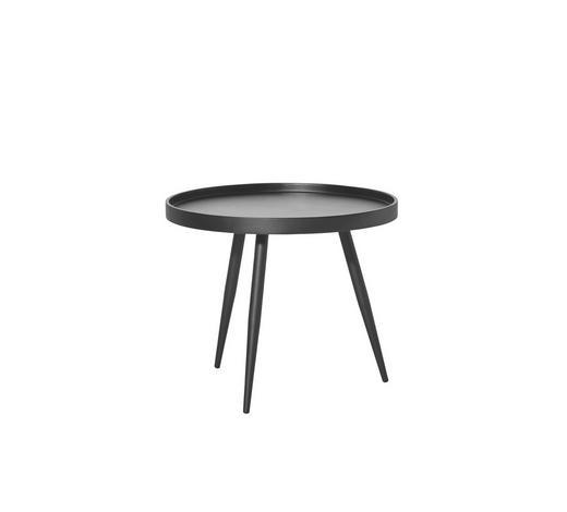 KONFERENČNÍ STOLEK - černá, Design, kov/kompozitní dřevo (60/50cm) - Carryhome