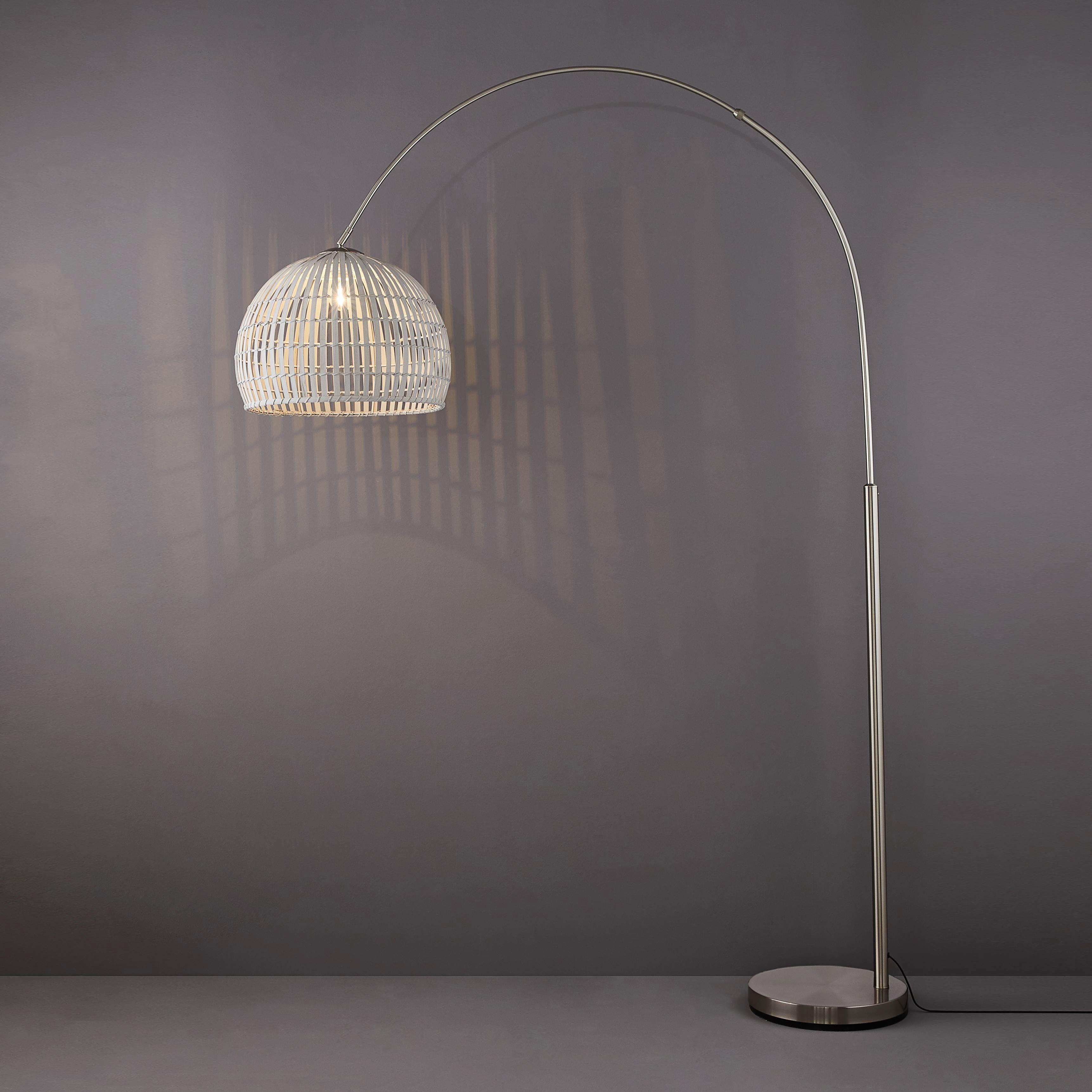 Möbel & Wohnen Geschickt Led Stehleuchte Bogenleuchte Lese Leuchte Bogenlampe Stehlampe Dimmbar 165cm Leuchten & Leuchtmittel