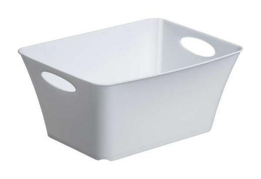 BOX Kunststoff Weiß - Weiß, Basics, Kunststoff (29.5/21.6/13.5cm)