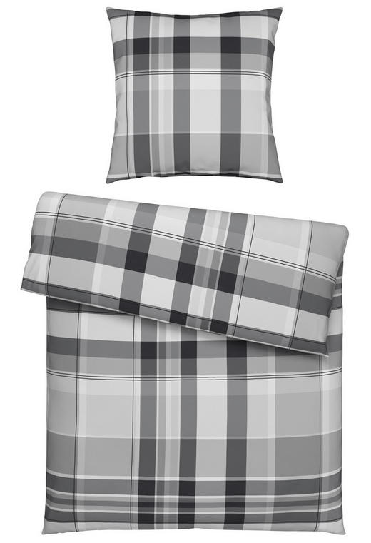 BETTWÄSCHE Flanell Silberfarben 135/200 cm - Silberfarben, Design, Textil (135/200cm) - Novel