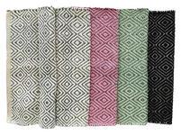Vorleger Sabile - Dunkelgrau/Lila, MODERN, Textil (60/90cm) - Ombra