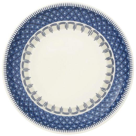 TELLER Keramik Fine China - Blau/Creme, Basics, Keramik (16cm) - Villeroy & Boch