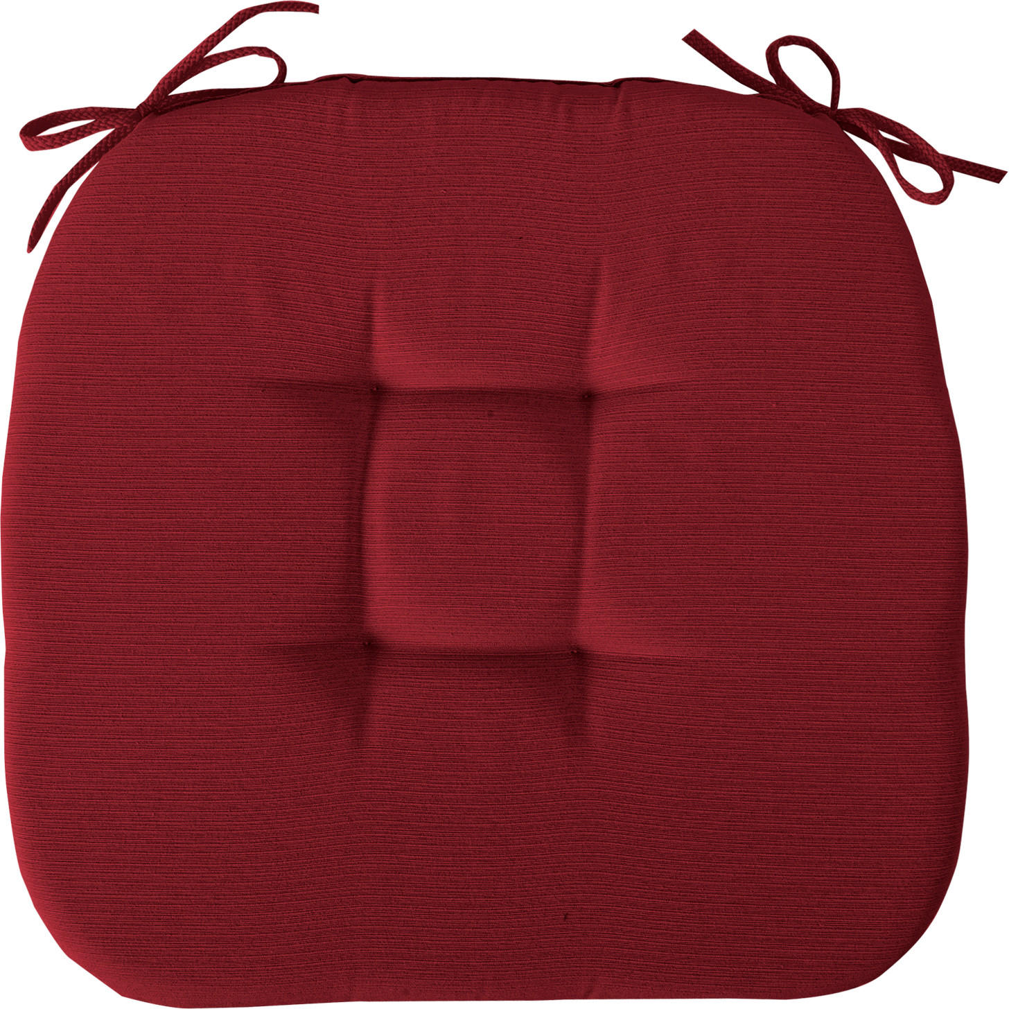 STUHLKISSEN Rot 41/41/3.5 cm - Rot, Basics, Textil (41/41/3.5cm) - NOVEL